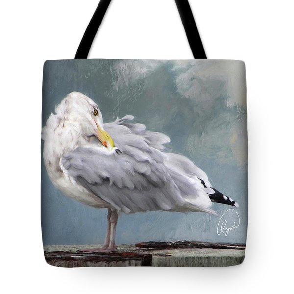 Looking Back Signed Tote Bag