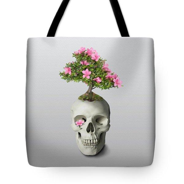 Bonsai Skull Tote Bag