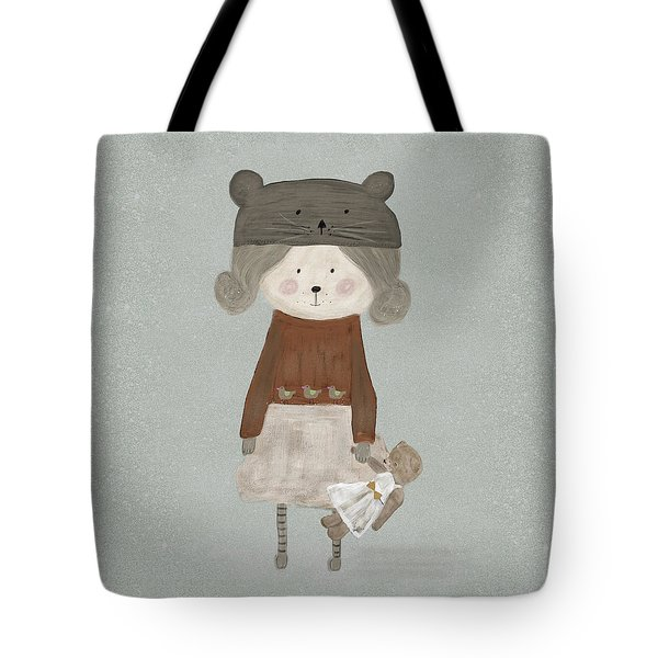 Lucy Bear Tote Bag