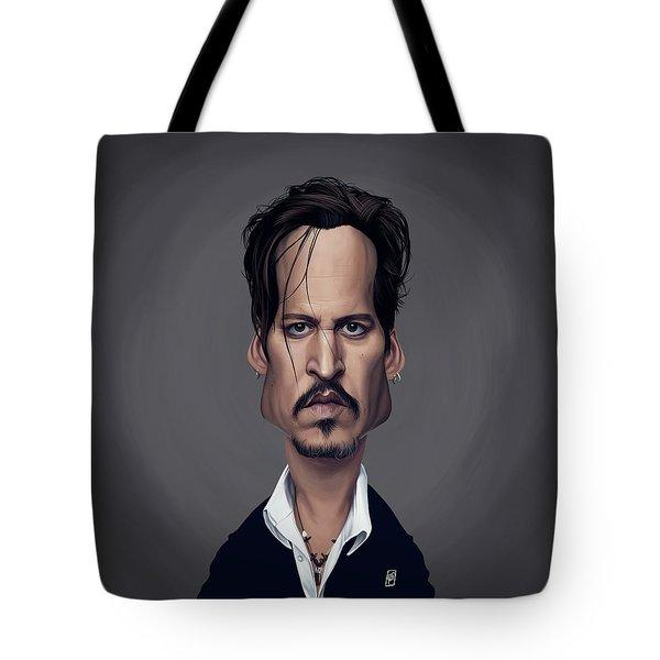 Celebrity Sunday - Johnny Depp Tote Bag