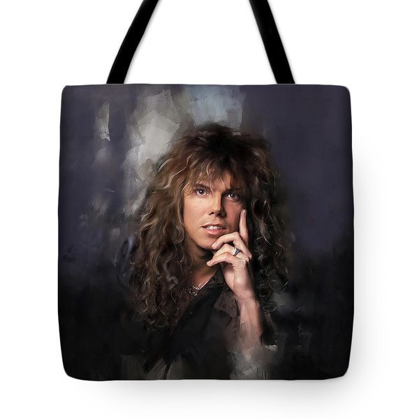 Joey Tempest Tote Bag