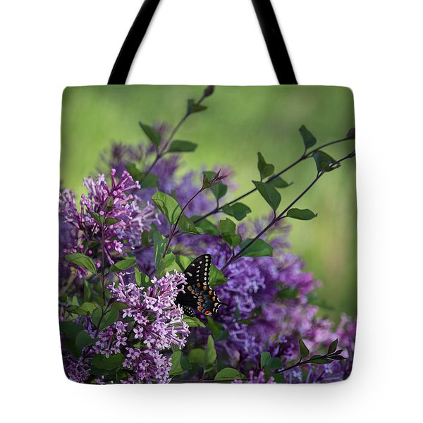 Lilac Enchantment Tote Bag by Karen Casey-Smith