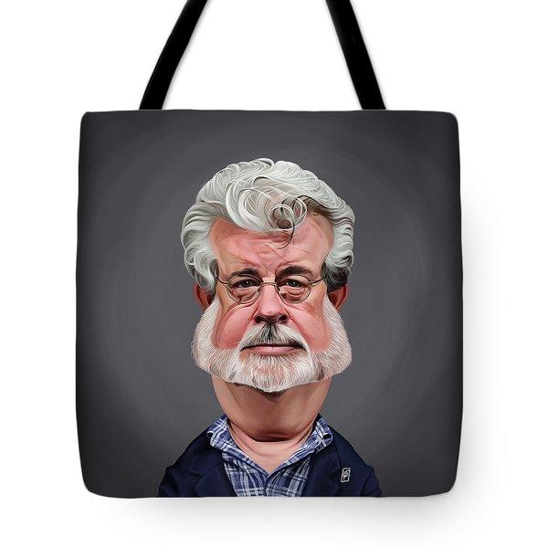 Celebrity Sunday - George Lucas Tote Bag