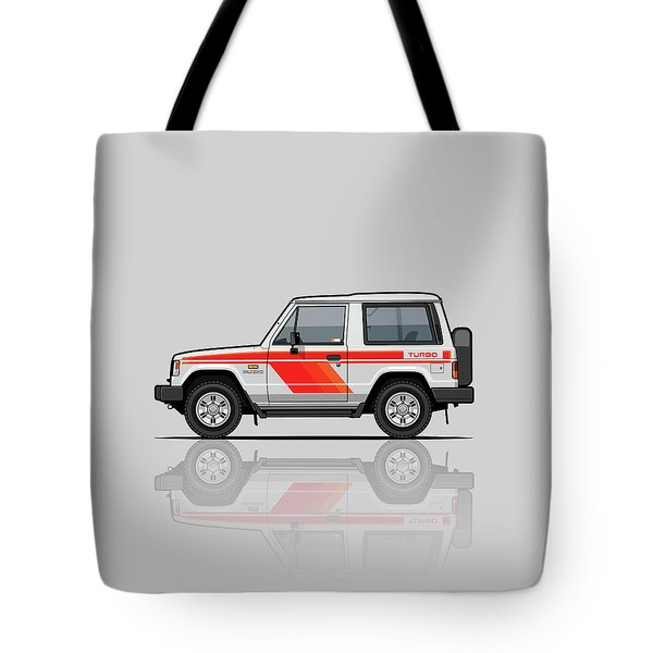 Mitsubishi Pajero Montero Shogun 3 Door Turbo Diesel Tote Bag