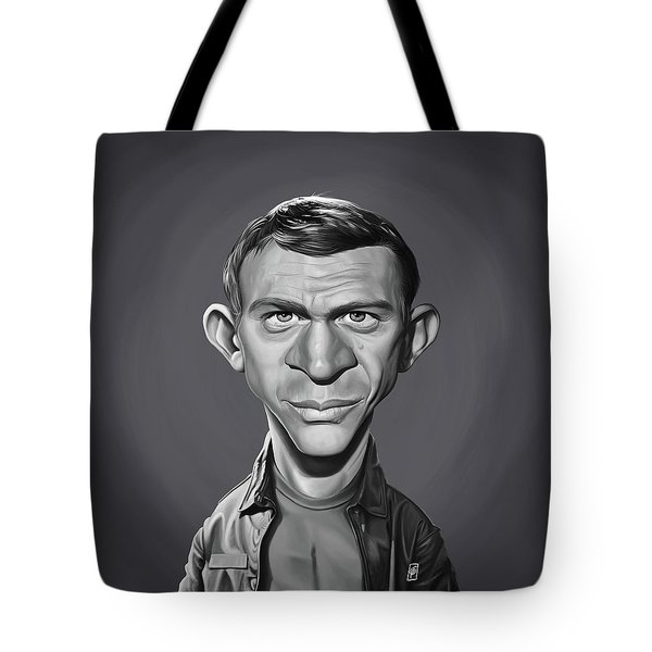Celebrity Sunday - Steve Mcqueen Tote Bag
