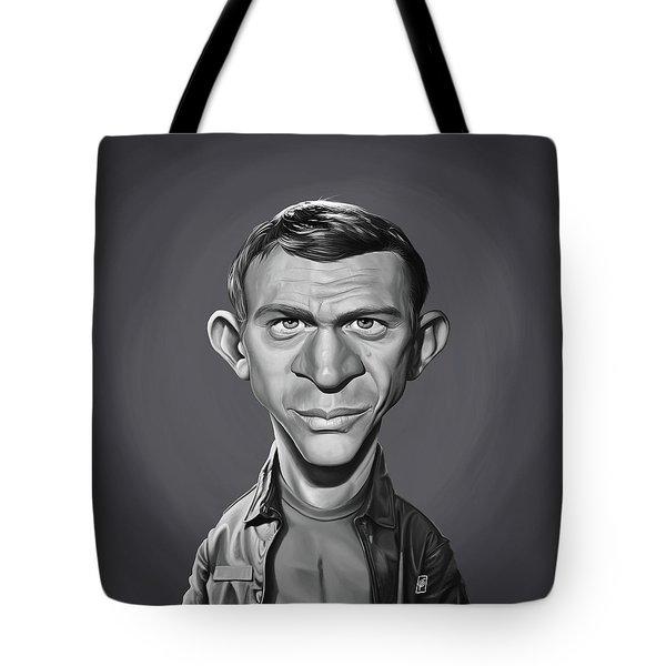 Celebrity Sunday - Steve Mcqueen Tote Bag
