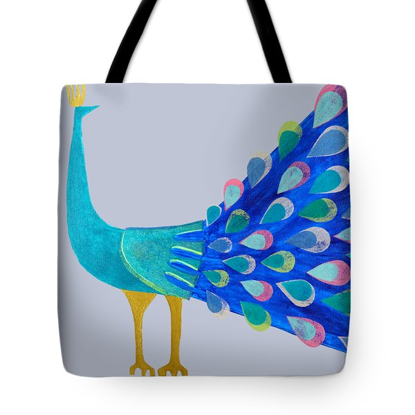 Pretty As A Peacock Tote Bag