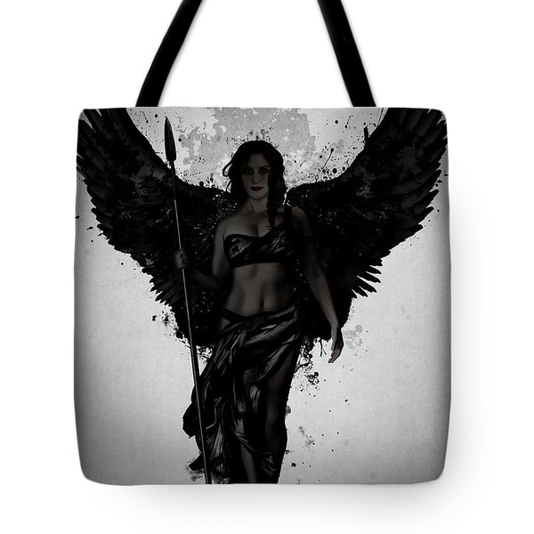 Dark Valkyrja Tote Bag