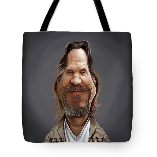 Celebrity Sunday - Jeff Bridges Tote Bag