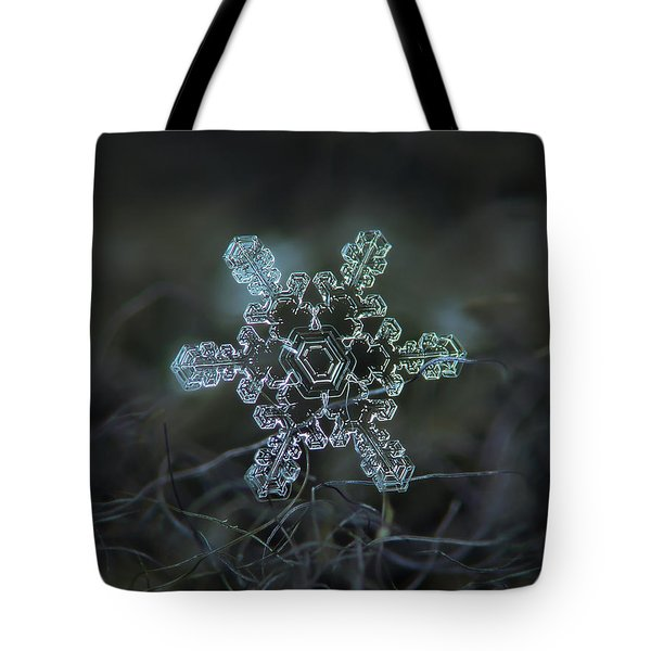 Real Snowflake - Slight Asymmetry New Tote Bag