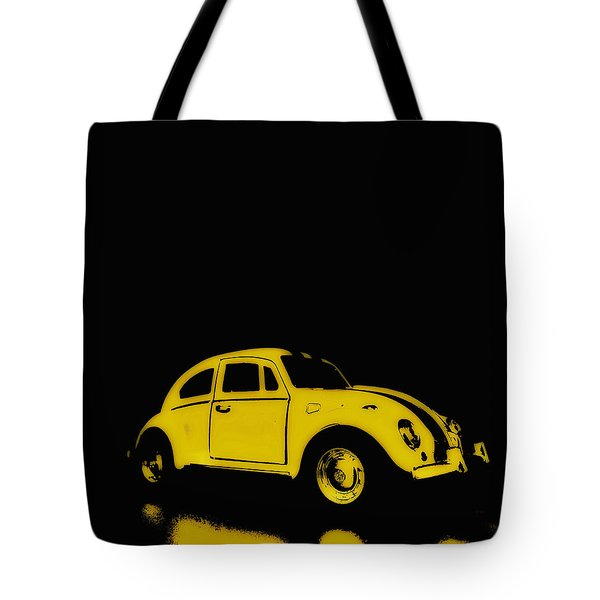 Yellow Bug Tote Bag
