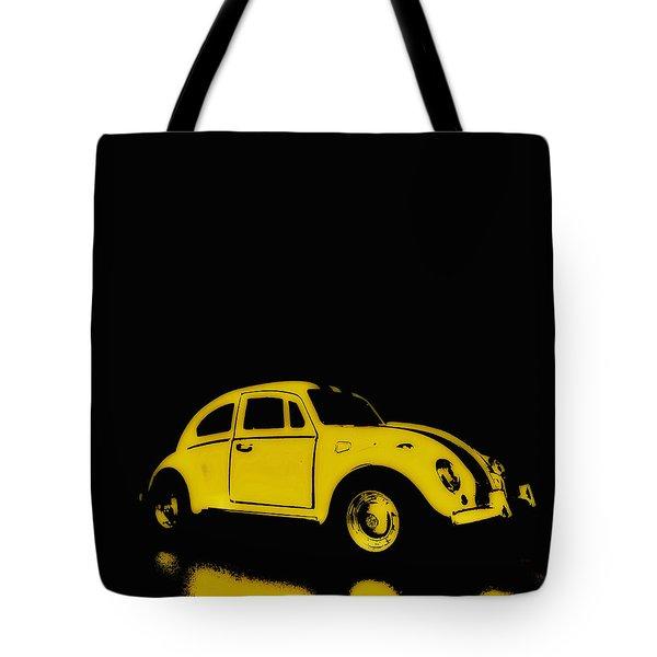 Yellow Bug Tote Bag
