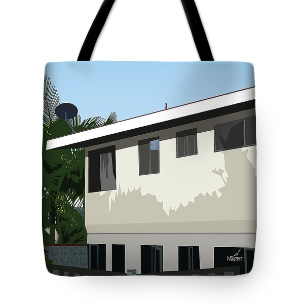 Apartment Shadows Tote Bag