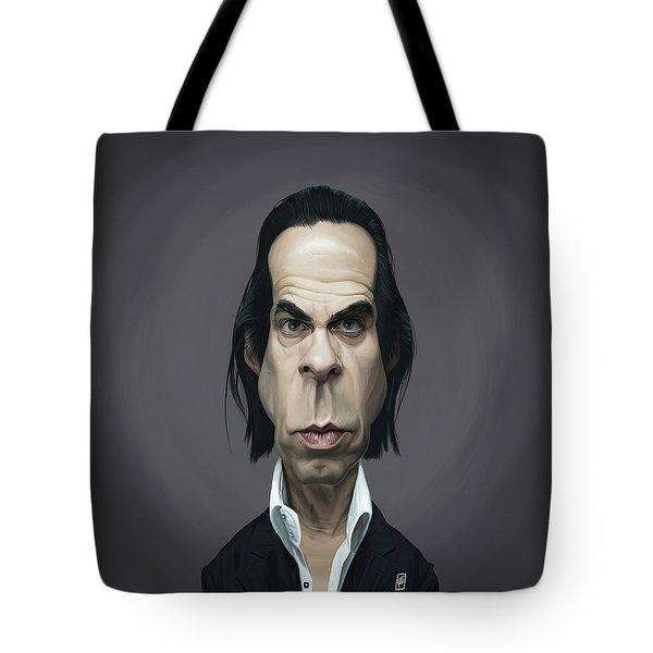 Celebrity Sunday - Nick Cave Tote Bag