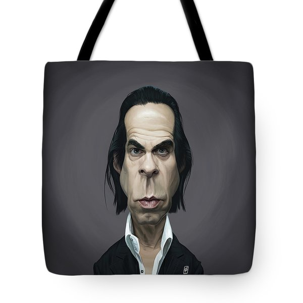 Celebrity Sunday - Nick Cave Tote Bag