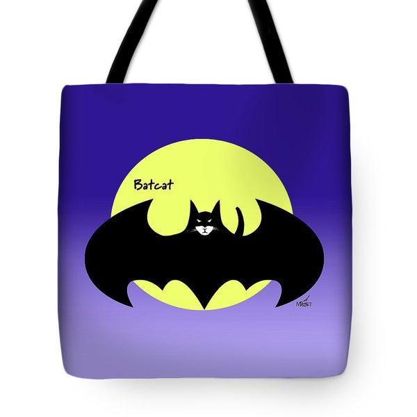 Batcat Tote Bag