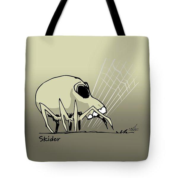 Skider Tote Bag