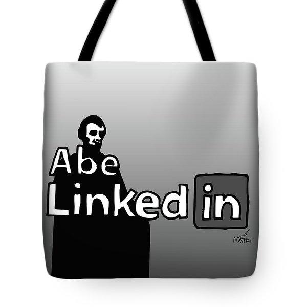 Abe Linkedin Tote Bag
