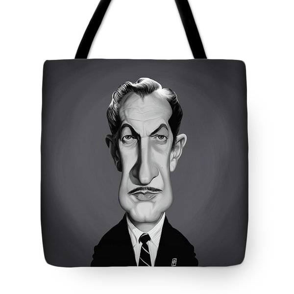 Celebrity Sunday - Vincent Price Tote Bag