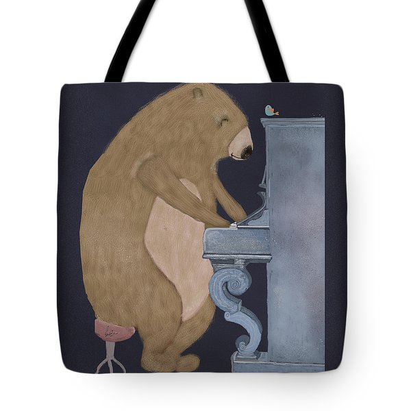Boogie Bear  Tote Bag