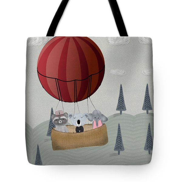 The Littlest Adventure Tote Bag