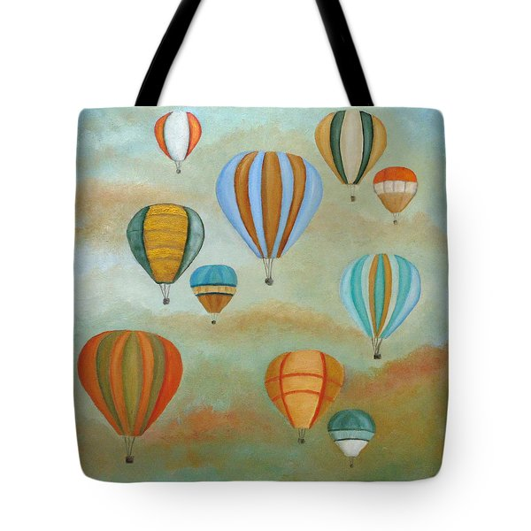 Rising High Tote Bag