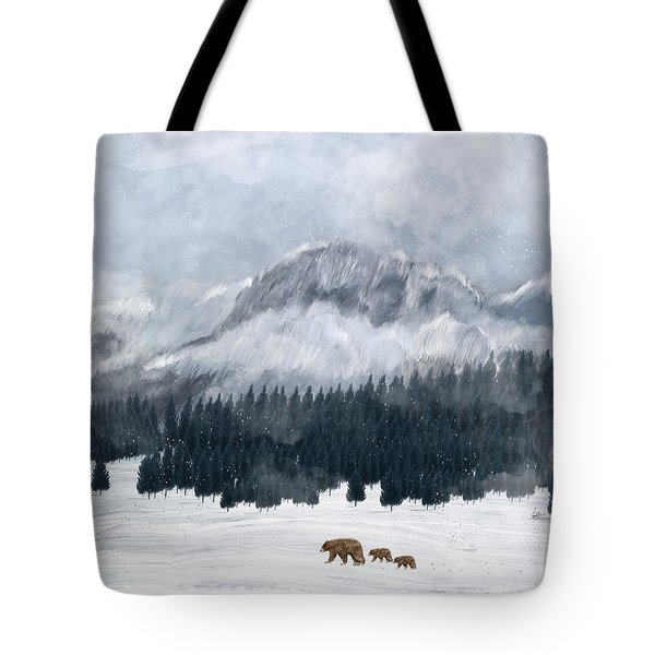 Nature Will Find A Way Tote Bag