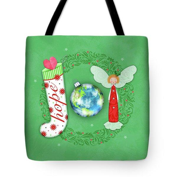 Joy Of Christmas Tote Bag
