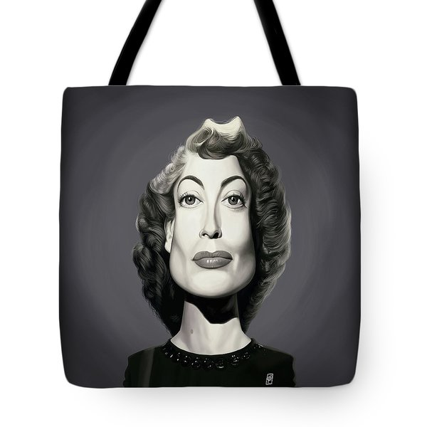 Celebrity Sunday - Joan Crawford Tote Bag
