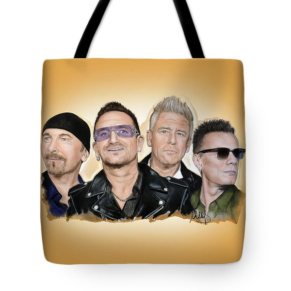 U2 Band Tote Bag