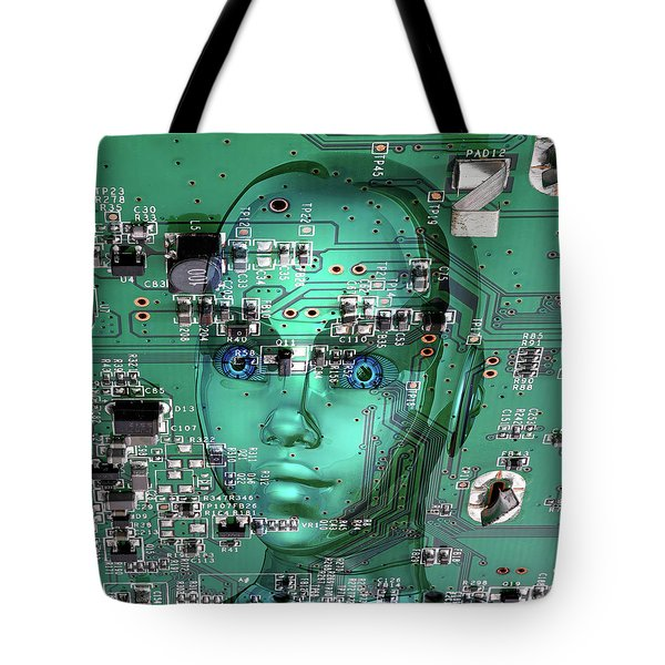 Tote Bag featuring the digital art Gamer by Anthony Murphy