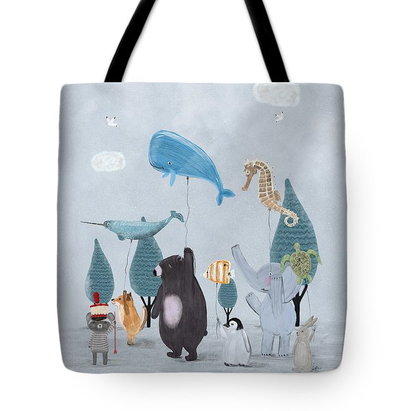 Nature Parade Tote Bag