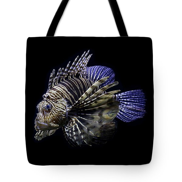 Majestic Lionfish Tote Bag