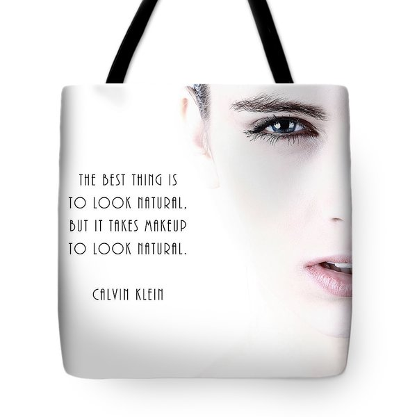 Tote Bag featuring the digital art Look Natural by Anthony Murphy