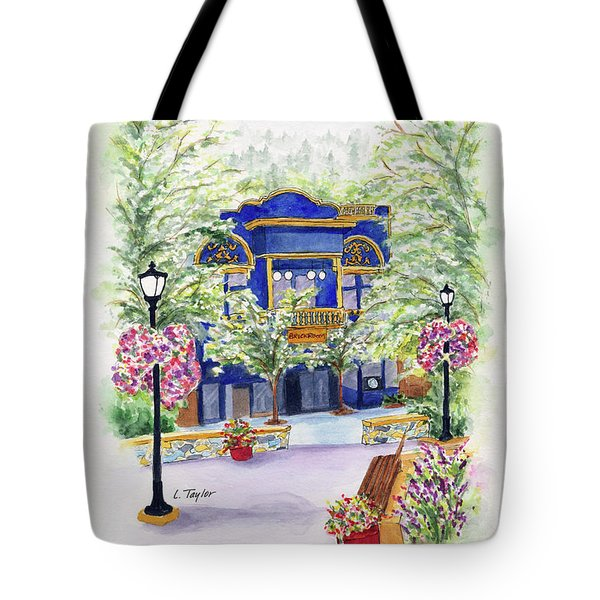 Brickroom On The Plaza Tote Bag