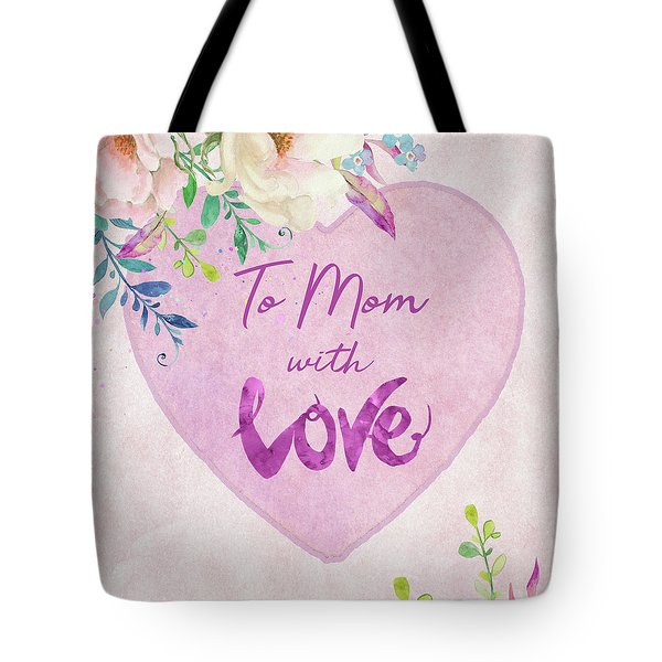 Mother's Day Wishes Tote Bag