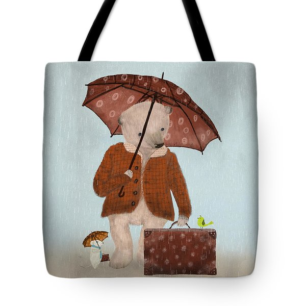 Where To Now Oh Big Bear  Tote Bag