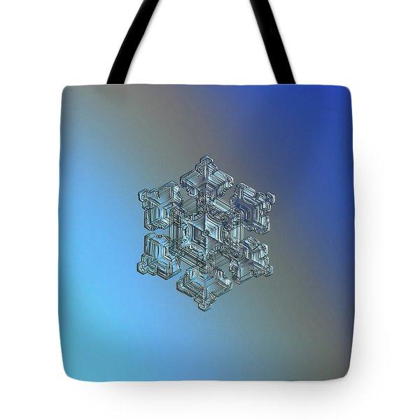 Real Snowflake - 05-feb-2018 - 5 Tote Bag