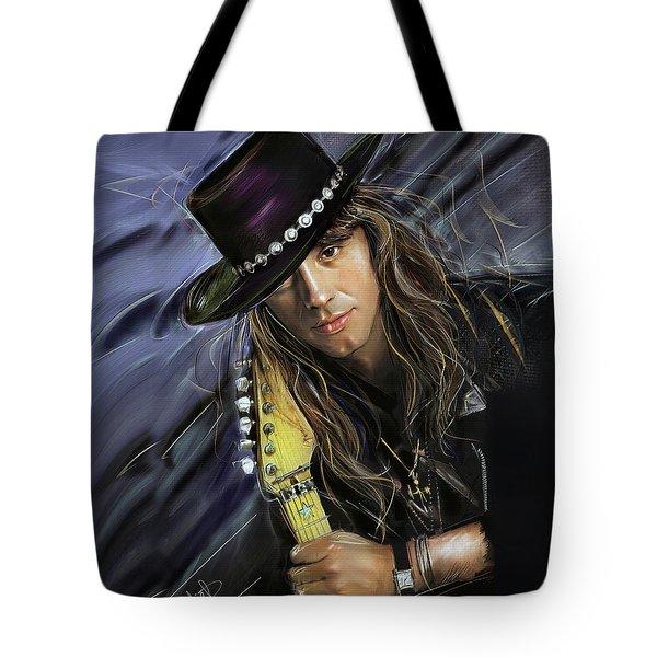 Richie Sambora Tote Bag