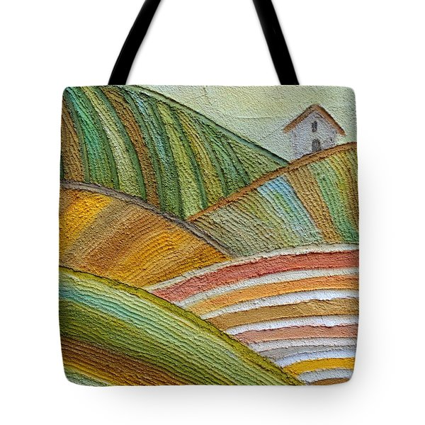 Plowing Through Tote Bag