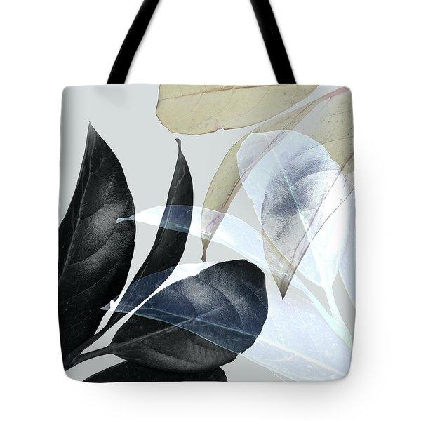 Moody Leaves Tote Bag