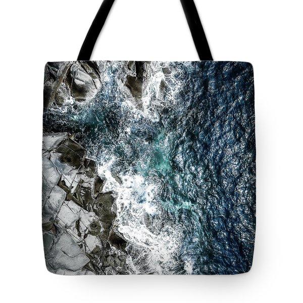 Skagerrak Coastline - Aerial Photography Tote Bag