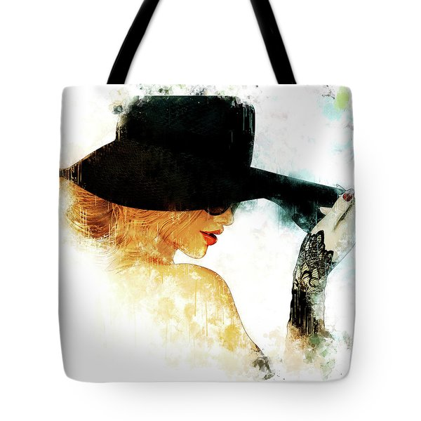 Leave Your Hat On Tote Bag