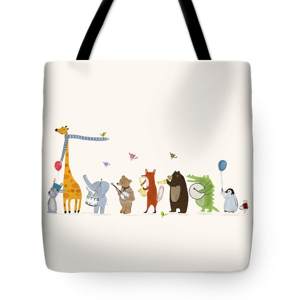 Little Parade Tote Bag