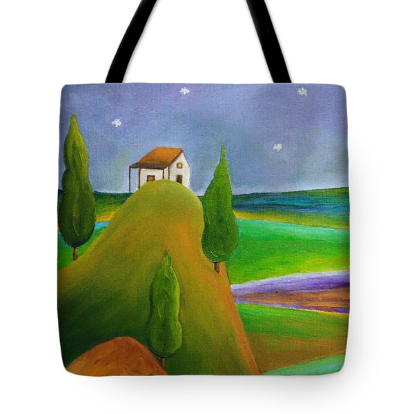 Starry Summer Night Tote Bag