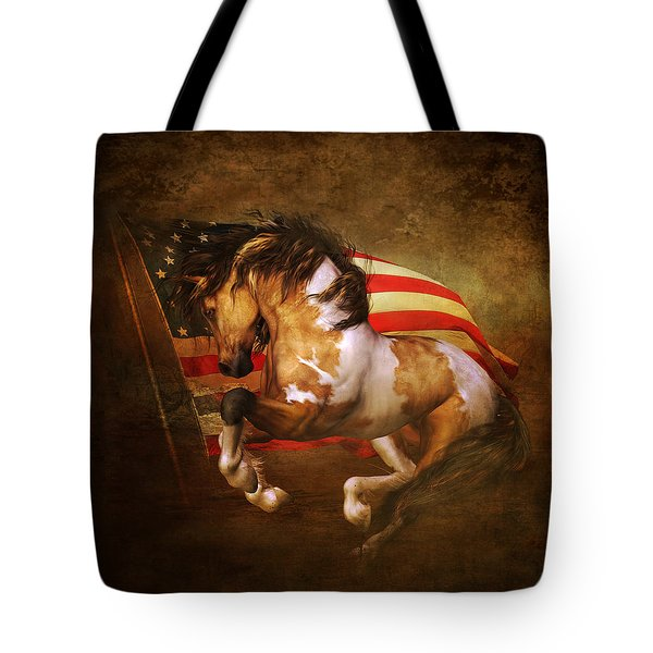 Freedom Run Tote Bag