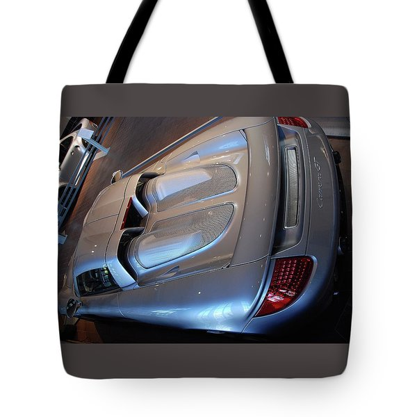 Rear Pov Tote Bag