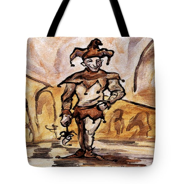 Court Jester Tote Bag by Kevin Middleton