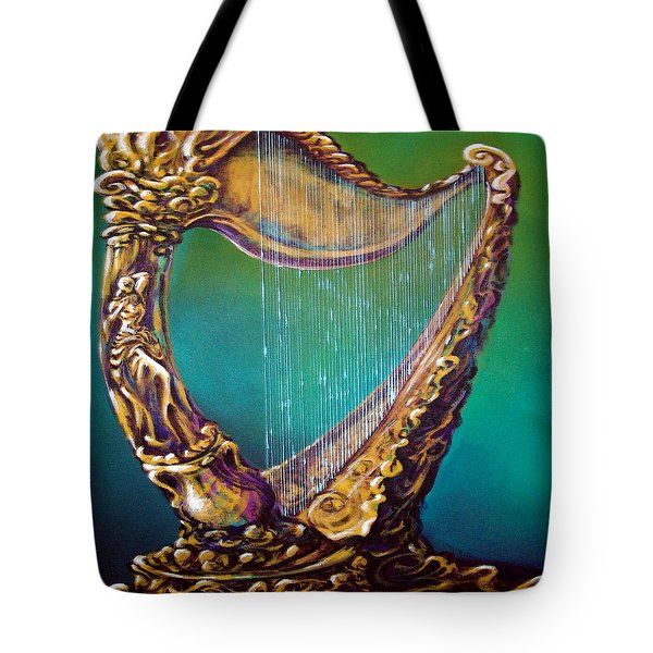 Harp Tote Bag by Kevin Middleton