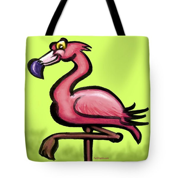 Flamingo Tote Bag by Kevin Middleton